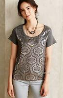 Anthropologie Moth Drawing Room Pullover Size S