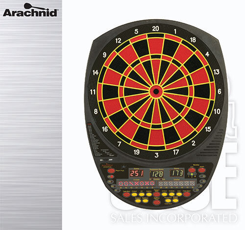 Arachnid 3000 Electronic Soft Tip Dartboard Dartboard Dartboard w/ FREE Shipping 780492