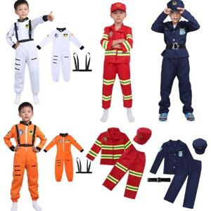 Kids-Boys-Astronaut-Costume-Firefight-Police-Fancy-Dress-Cosplay-Outfit-Clothes