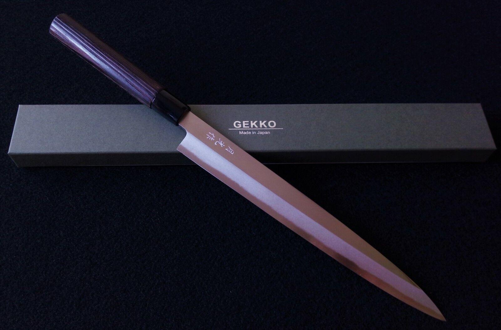 Japonais GEKKO SK4 haut en acier au carbone Yanagiba Knife 270 mm  2152