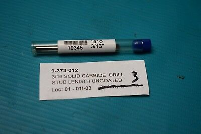 """2FL 90 DEG PT Solid Submicron Grain Carbide Drill//end Mill 152M Garr 1//4/"""" DIA"""