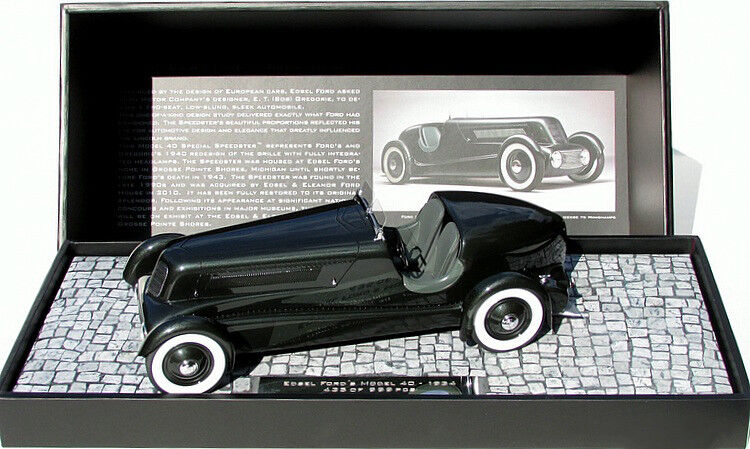 Minichamps Edsel Ford modelo 40 especial Speedster Original 1  LE999