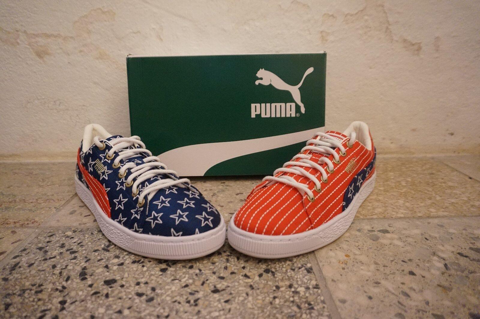 newest ad800 b73c8 Puma Basket 4th of July-NEUF-NEW-ORIGINAL - doubleboxed-UE 42-US 42-US 42-US  9 26c3ca