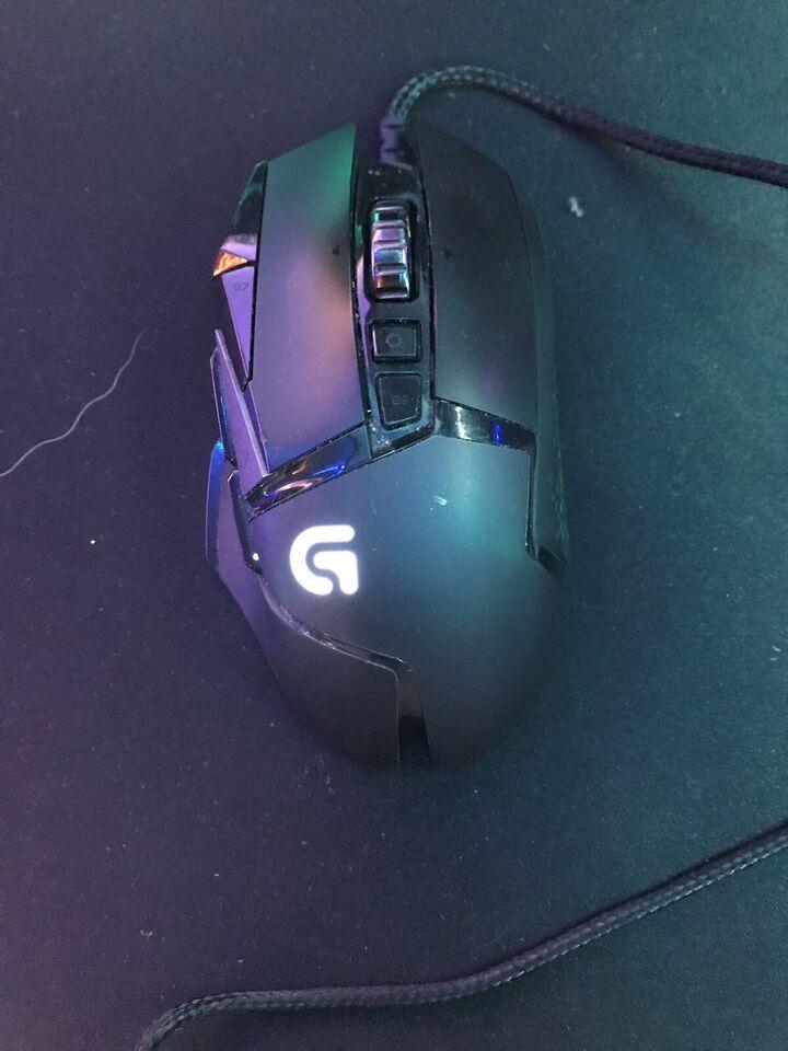 Mus, Logitech, G502 hero