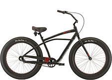 "Felt Float Fat Tire Cruiser, 3Gang, Fat Bike Fatbike, Chopperbike, 26x4.0"" black"