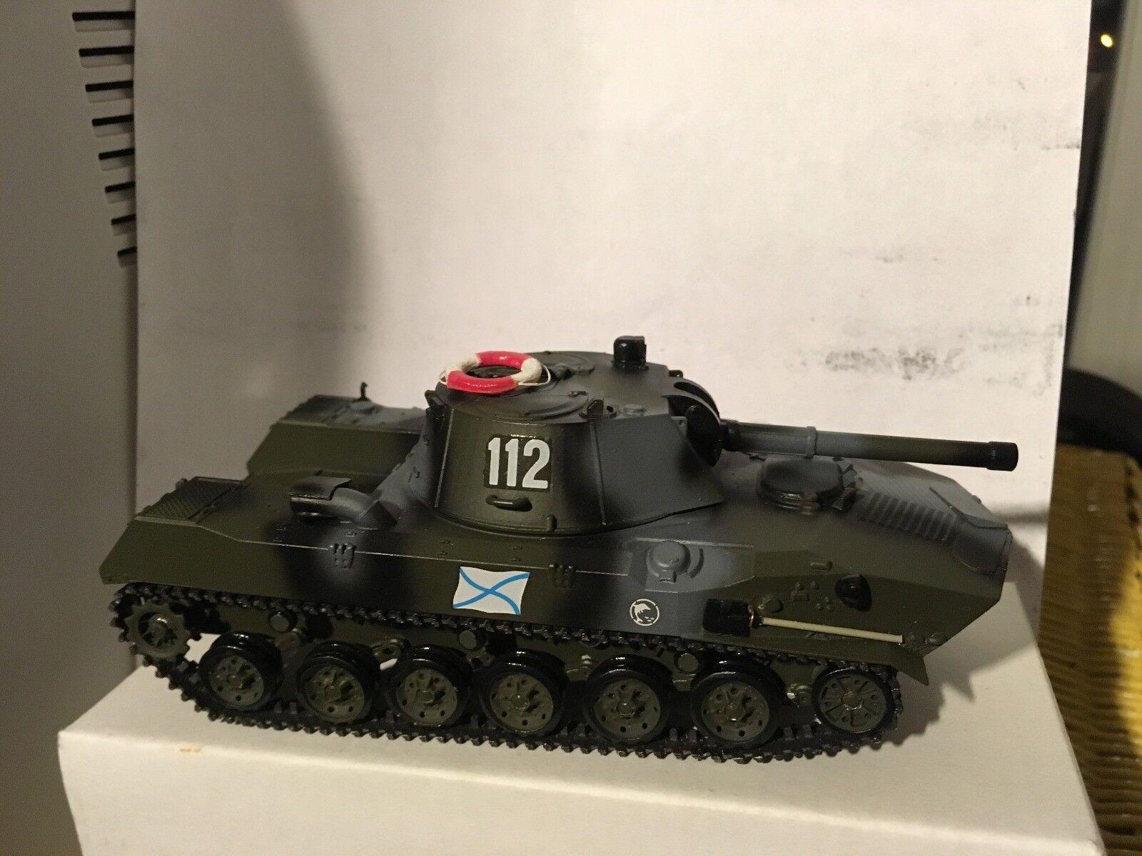 Véhicule BTR-D tourelle mortier NONA, marine russe en résine