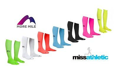 MORE MILE CALIFORNIA COMPRESSION RUNNING SOCK CALF/KNEE LENGTH AIDS RECOVERY