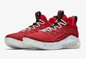 info for 35e5e f0815 Details about NIKE LEBRON JAMES XV 15 LOW AO1755 600 UNIVERSITY  RED/WHITE/BLACK-BATTLEKNIT/FLY