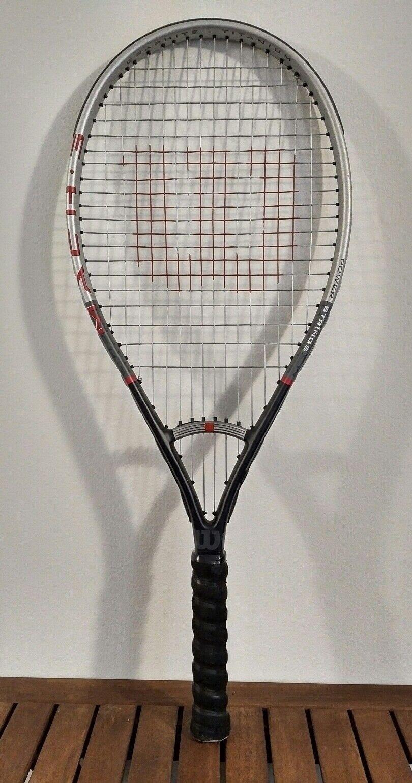 WILSON Mach 3 Power Strings - 100 sq.in. HS - 4 1 4 - Tennis Racquet