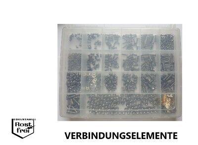 Senkkopfschrauben Sortimente DIN 965 TORX Edelstahl A2 versandkostenfrei