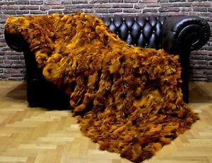 Luxury-Real-Fur-Fox-Throw-Blanket