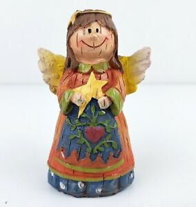 ANGEL-Holding-Star-Figurine-Mission-Gallery-Children-039-s-Nativity-Christmas-Creche