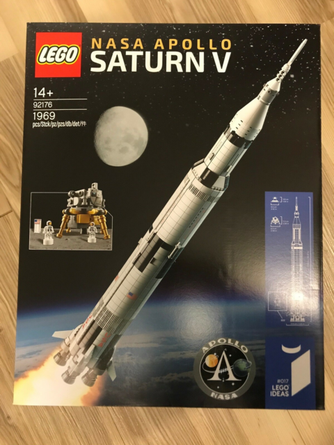 Lego Ideas, 92176, NASA Apollo Saturn V, ny, uåbnet, meget…