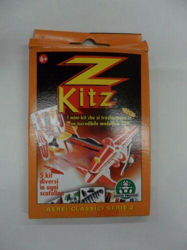 GIOCHI PREZIOSI Z KITS  i mini kit per creare 5 aerei classici in 3D