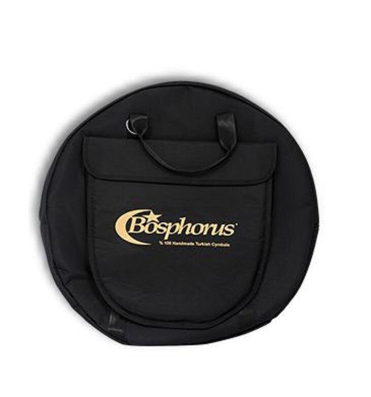 BOSPHORUS Cymbalbag PROFI  bis 24    gepolstert innen sehr weich  - NEU