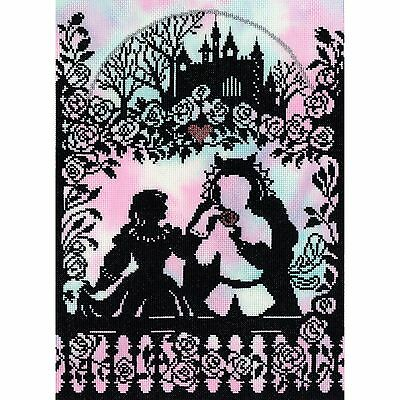 BOTHY THREADS FAIRY TALES BEAUTY AND THE BEAST CROSS STITCH KIT - NEW XFT9P