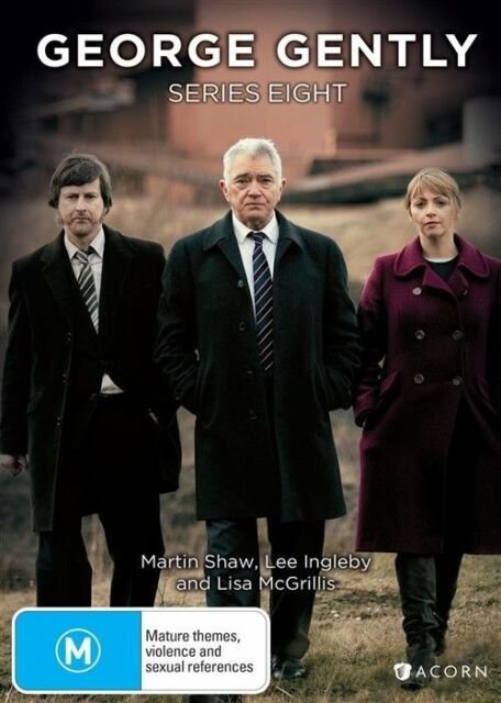 George Gently Series 8 Eight DVD NEW