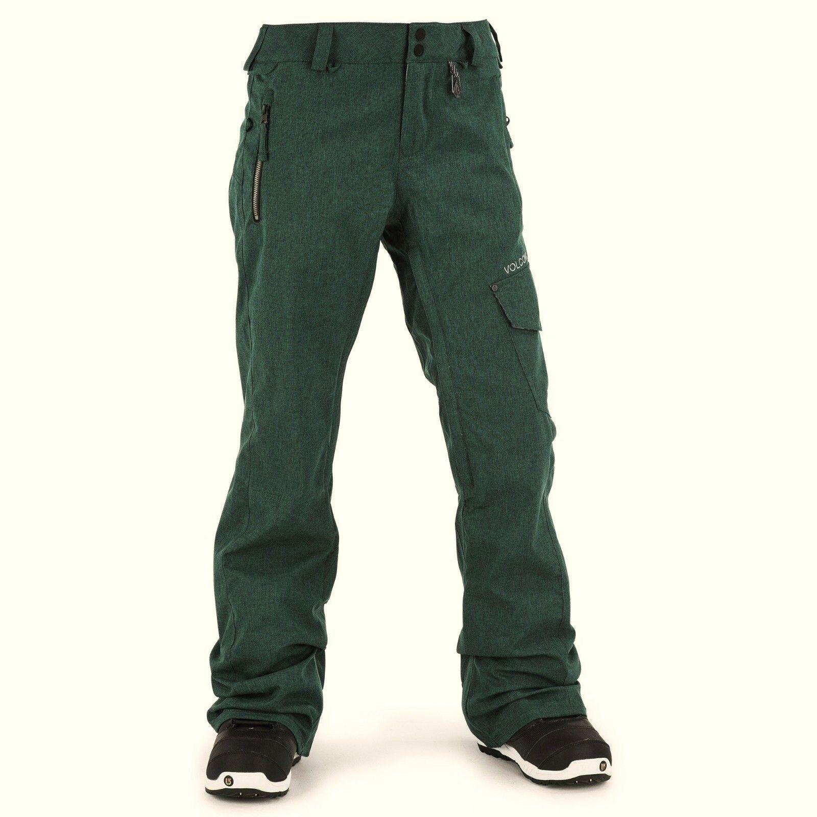 VOLCOM Women's PLATEAU Pants - Small - MNG - NWT