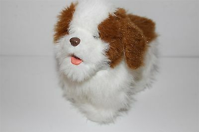 Electronic, Battery & Wind-up Battery Operated Dynamic Furreal Friends Walking Puppy King Charles Spaniel Battery Operated Hasbro 2010 Moderate Price