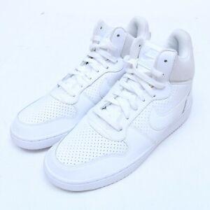 Nike Court Borough MID 838938-111 Athletic Shoes Size 8.5