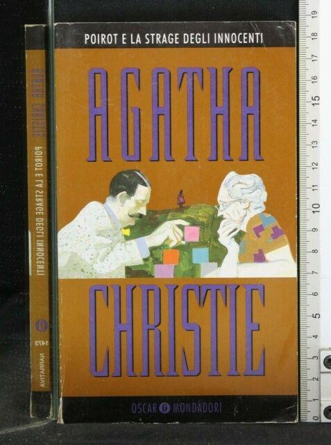 POIROT E LA STRAGE DEGLI INNOCENTI. Agatha Christie. Mondadori.