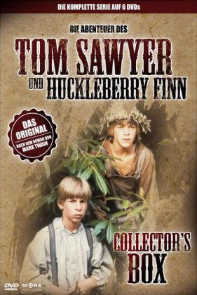 Die Abenteuer des Tom Sawyer & Huckleberry Finn, 6 DVDs (Collector's Box)