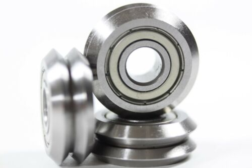 """8 pieces Package of 8  V Groove Ball Bearing  3//8/"""""""