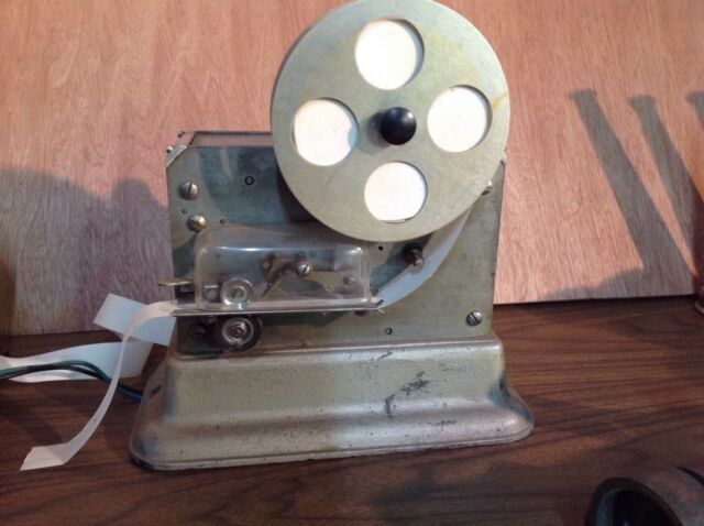 Antique Harrington Signal Co. Alarm Ticker Tape Telegraph Register (like Gamewel