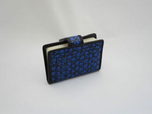 Vendita in vera pelle Bank titolare della carta di credito OYSTER Travel Pass Buss wallet blu