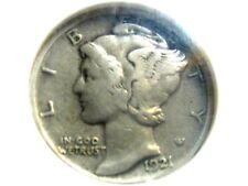 1927-D 10C Mercury Dime