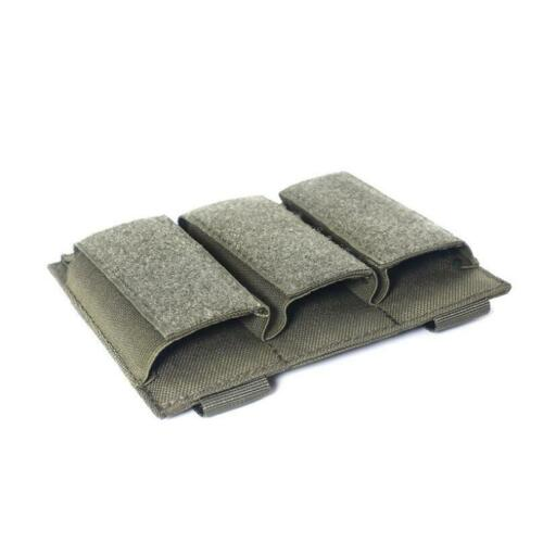 Nylon 9mm//40CAL Tactical Molle Pistol Magazine Pouch Dual Triple Holder Holster