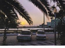 Sunset over the Docks Faro Algarve Portugal Postcard unused VGC