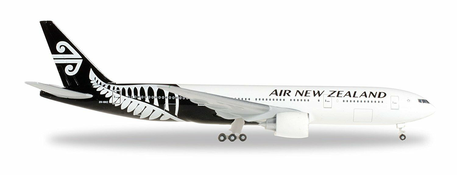 Herpa wings air new zealand boeing 777 - 200 zk-okc 1   500 - modell, 528450