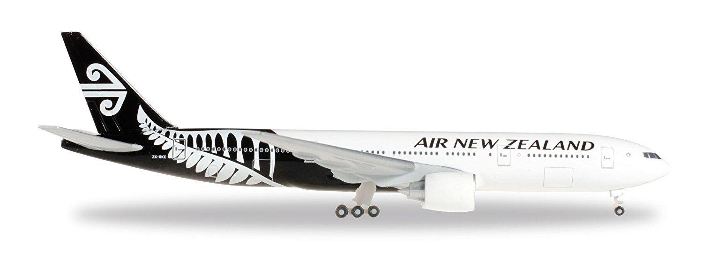 Herpa Wings Air New Zealand Boeing 777-200 777-200 777-200 Zk-OKC 1 500 Escala Modelo 528450 1d8b80