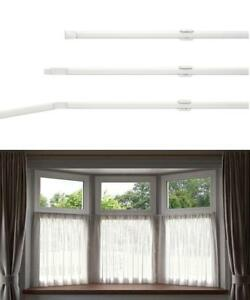 Net Curtain Flexi Track Rod For Bay Windows Upto 475cm 187 Can