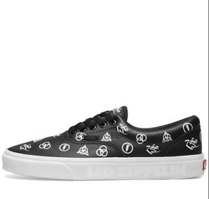264cfb67d69f NEW Vans Era Led Zeppelin Skate Shoe Black Mysterious Signature ...
