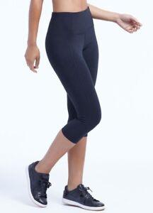 selected material offer new season Details about New Marika Magic Brooke Tummy Control Capri Legging Yoga  Pants Black NWT