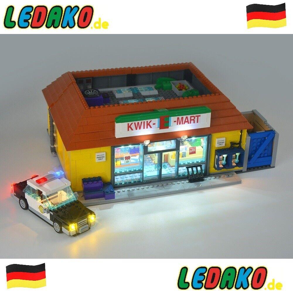 LED Beleuchtungsset für Lego® für 71016 Kwik - E - Markt von ledako light kit