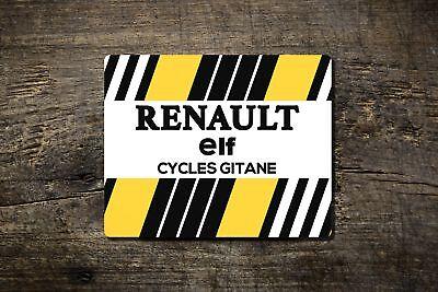 Renault Elf-tappetino Mouse-bike Ninja Ciclismo Su Strada Tour In Stile Retrò- Abbiamo Vinto L'Elogio Dai Clienti