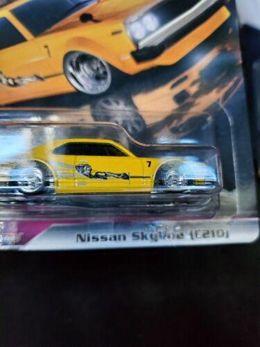 2019 Hot wheels Premium Fast Rewind fast and furious nissan skyline c210