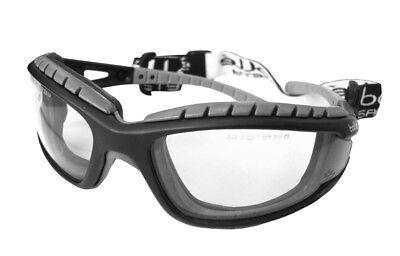 100% Vero Bolle Tracker Mtb Specs Occhiali Di Sicurezza Lenti Trasparenti Senza Sacchetto Anti Fog Graffio-