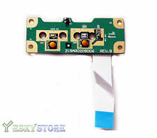 HP G60 Compaq CQ50 CQ60 Power Button Board w Cable 48.4H503.011