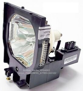 XPSA001 POA-LMP49 UHP Lamp 610 300 0862 for SANYO Projector 3 LCD PLC-UF15
