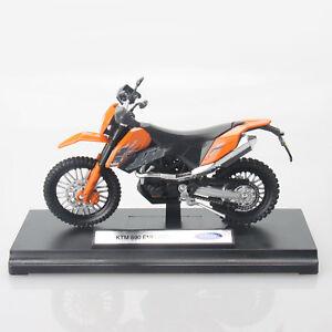 Ktm Dual Sport >> Ktm 690 Enduro Dual Sport Off Road Motorcycle 1 18 Diecast Model