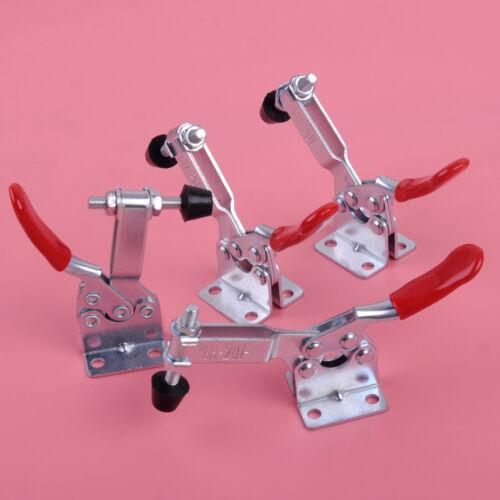 4X GH-201B Horizontal Waagrechtspanner Schnellspanner Werkzeug Toggle Clamp Tool