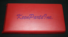 1986-1989 C4 Corvette Console Lid Assembly in Red, Brand New!