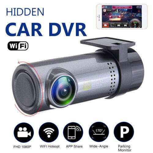 1080P HD 360° Rotation WiFi Hidden Car DVR Dash Camera Video Recorder