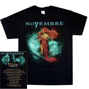 Novembre-Ursa-Shirt-S-M-L-XL-Gothic-Prog-Doom-Metal-Band-T-Shirt-Official-Tshirt