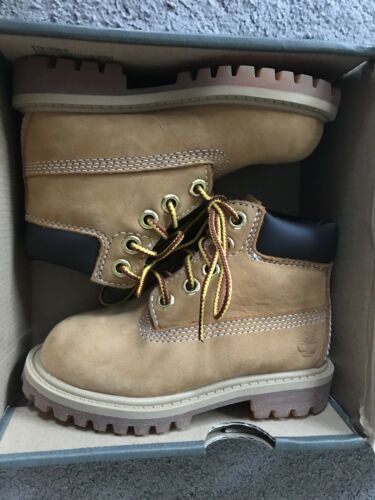 Uk 6 Bnib 80 Timberland Up £ Rrp Zapatos Wheat Infant Boots Lace 1H1B8q