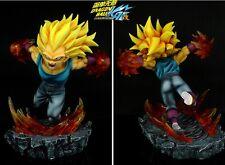 DBZ- Dragon-Ball-Z-official BL-SSJ3 Vegeta Resin statue figure-NEW